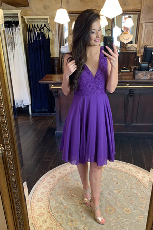 Cutie Pie Dress - Purple
