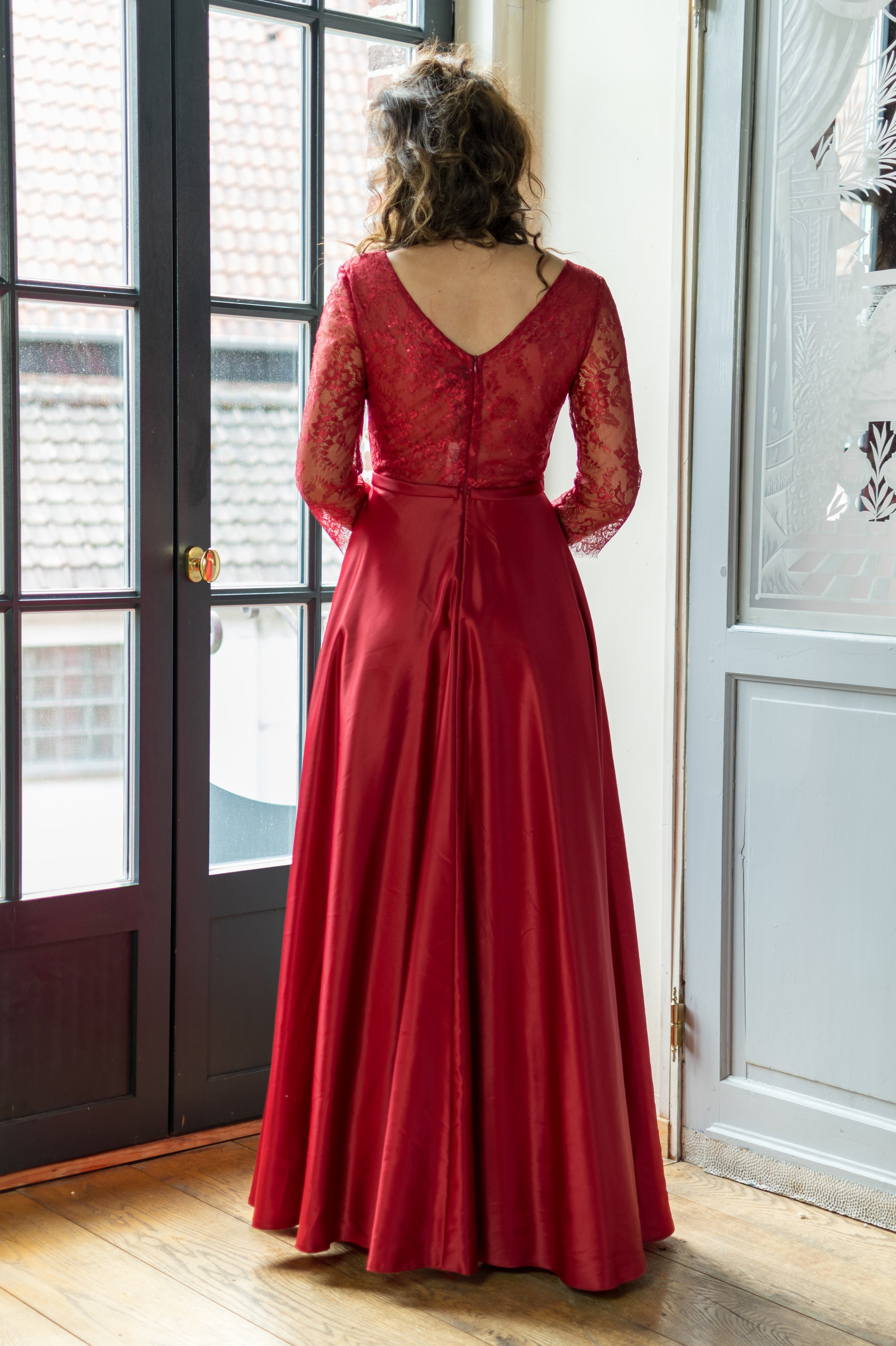 Belle Of The Ball Dress - Cerise