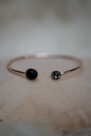 Lovely Bracelet - Black & Rose Gold