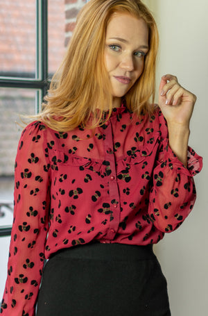 Lovely Day Shirt - Red