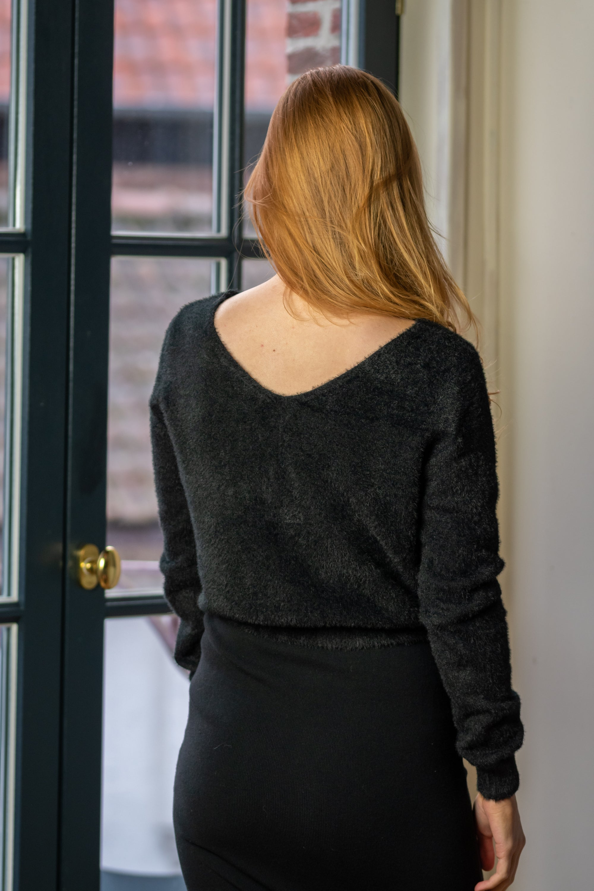 Diamond Sweater - Black