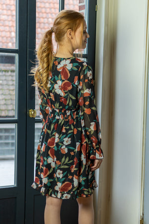 Fancy Floral Dress