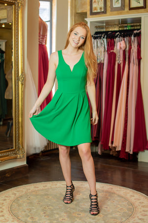 Lovely Day Dress - Green as Grass