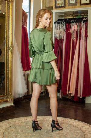 All Mine Dress - Luxurious Khaki