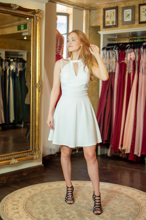 Date Night Dress - White