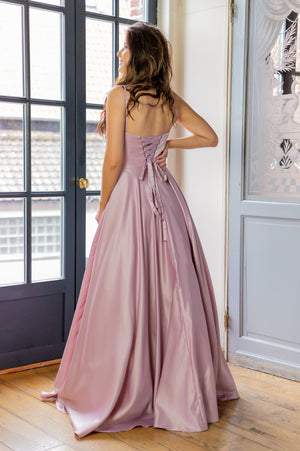 Fit For A Queen Dress - Mauve