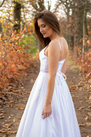 Fit For A Queen Dress - White