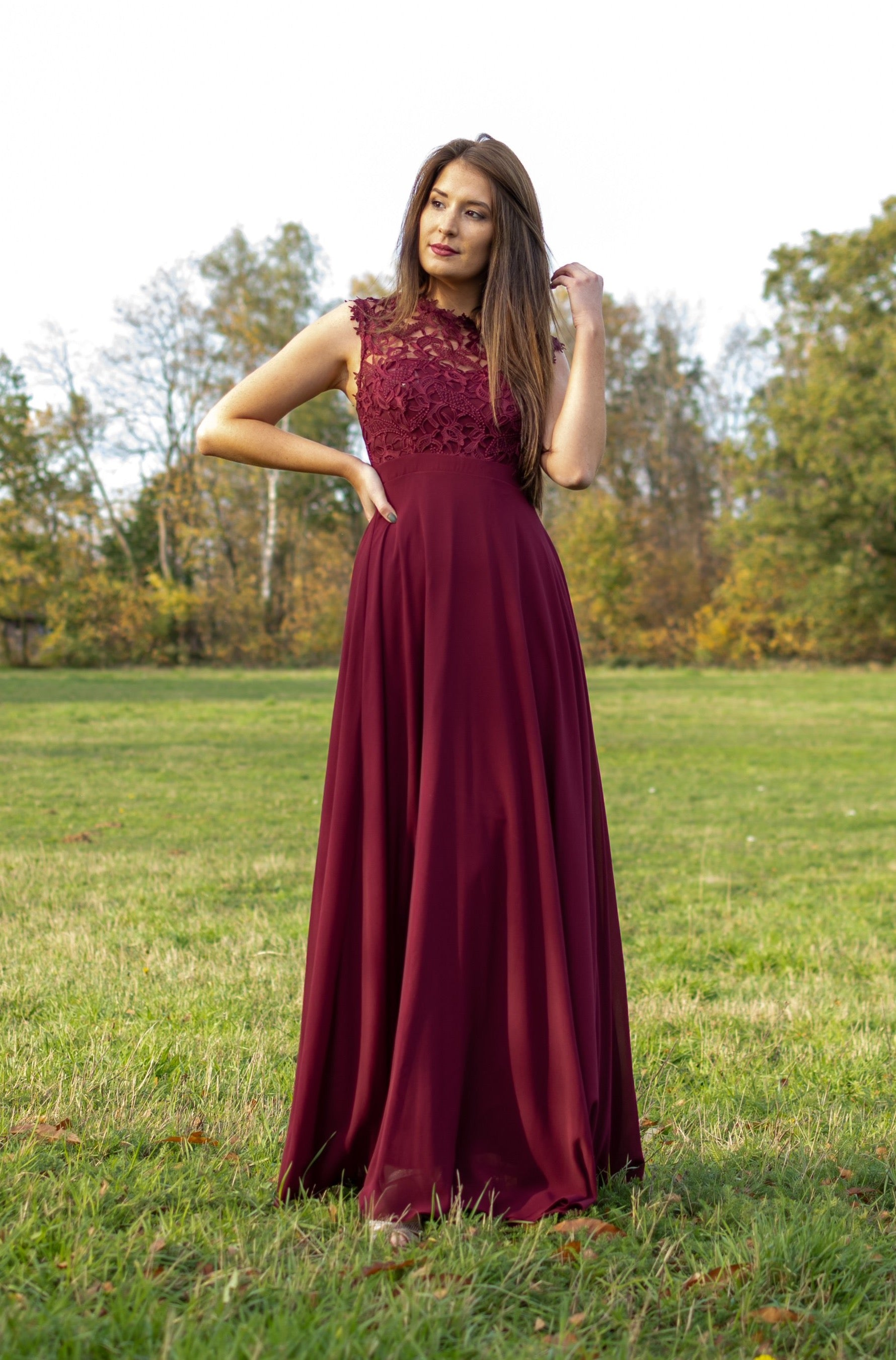 Dreamy Dress - Bordeaux