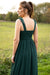 Catch The Bouquet Dress - Green