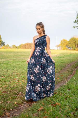 My Girl Dress - Navy Flower