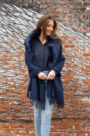 The Perfect Scarf - Navy