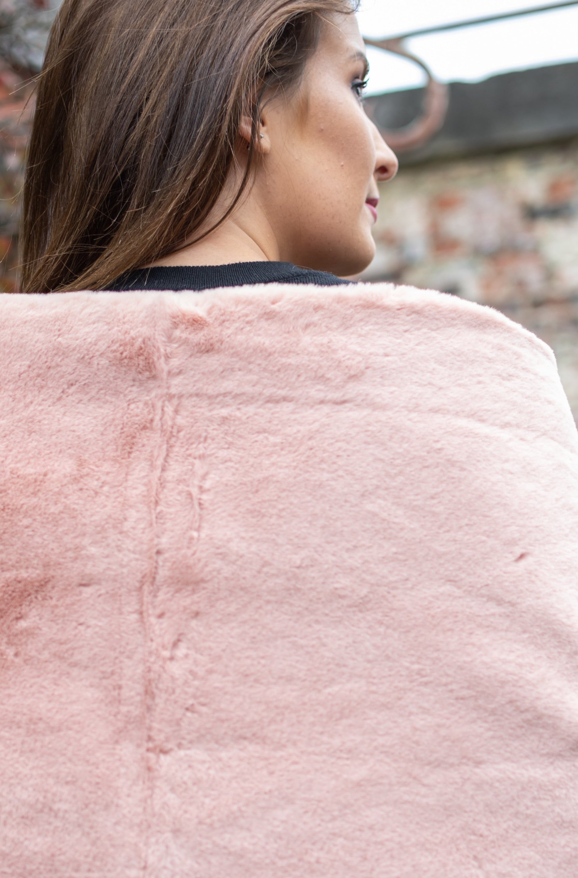 Teddy Scarf - Blush