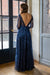 Time Of Your Life Dress - Navy