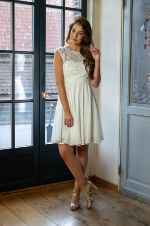 Love & Lace Dress - White