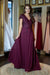Dancing Queen Dress - Bordeaux