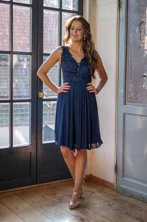 Glowing Dress - Queen Size Navy