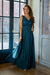Beauty Queen Dress - Oil Blue