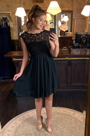 Love & Lace Dress - Black