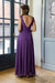 Amazing Fit Dress - Aubergine