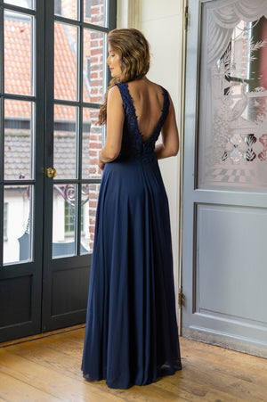 Amazing Fit Dress - Navy