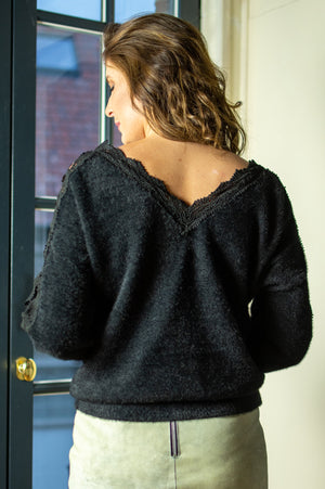 Fancy Sweater - Black
