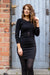 Casual Chique Dress - Black