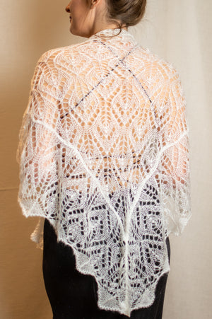 Crochet Scarf - Blush