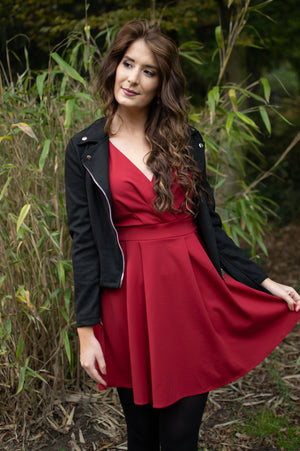 Smile Dress - Red