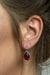 Elegance Earrings - Red