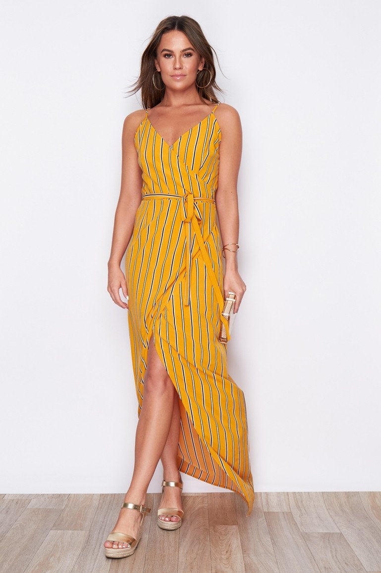 Pretty Perfect Dress - Mustard