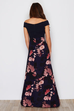 Write Me A Poem Dress - Navy