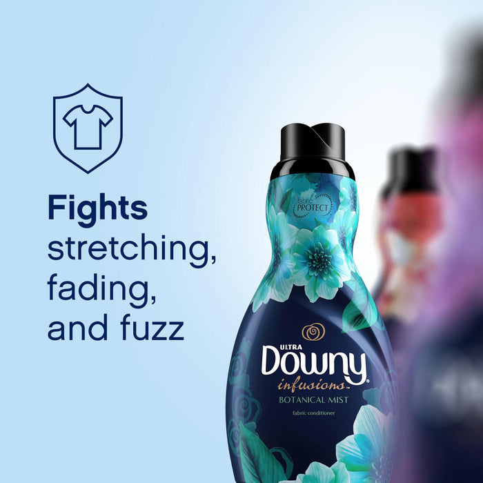 Downy Infusions Botanical Mist Liquid Fabric Softener (174 loads)