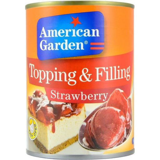 American Garden TOPPING & FILLING STRAWBERRY - 595 g