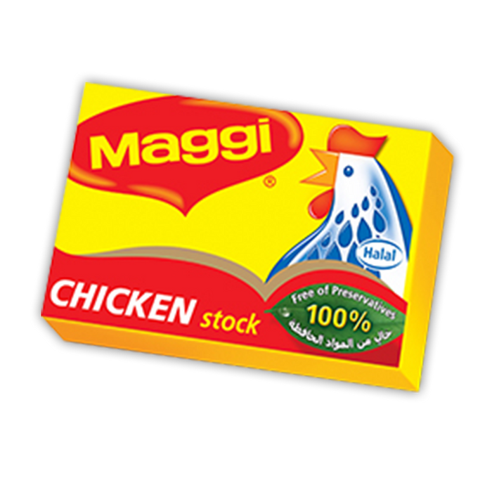 MAGGI Chicken Stock (24x20g) Made in UAE - Talabac