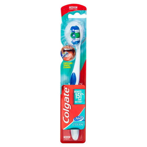 Colgate Toothbrush 360 Degree Whole Mouth Clean - Medium