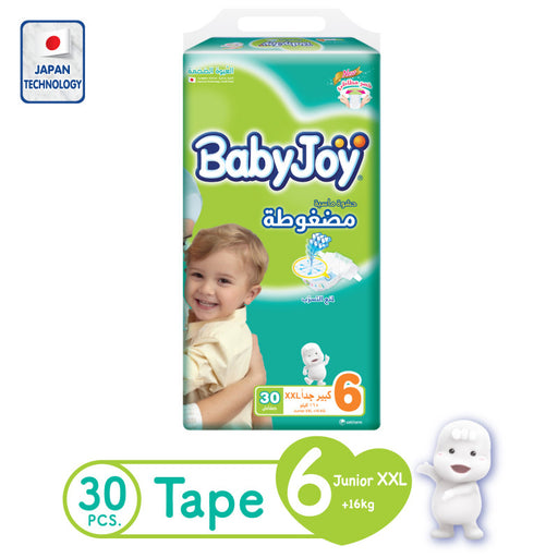 BabyJoy -  Size 6, 16+ kg - 30 count