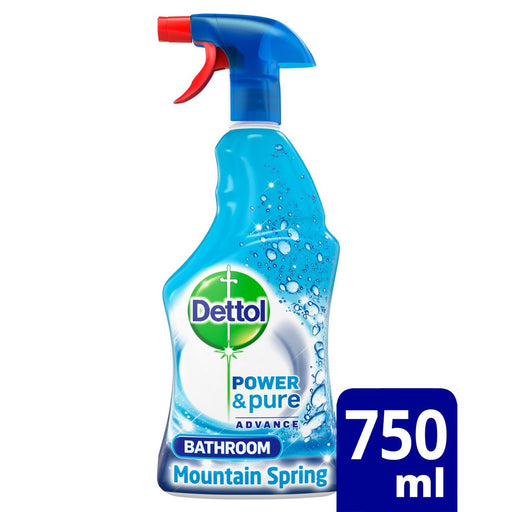 Dettol Power & Pure Bathroom Cleaning Spray 750 ml