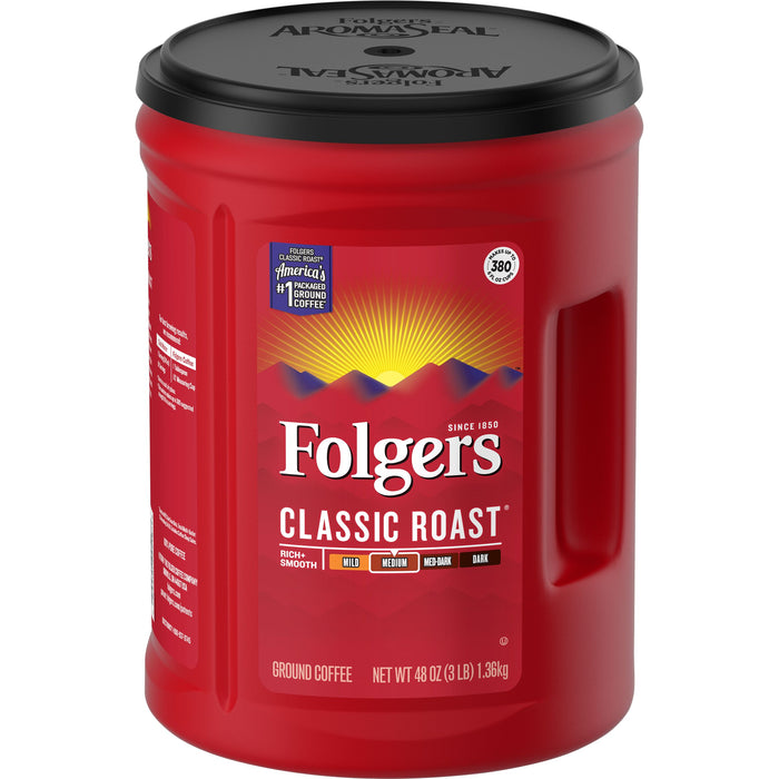 Folgers Classic Roast Ground Coffee 1.44 KG