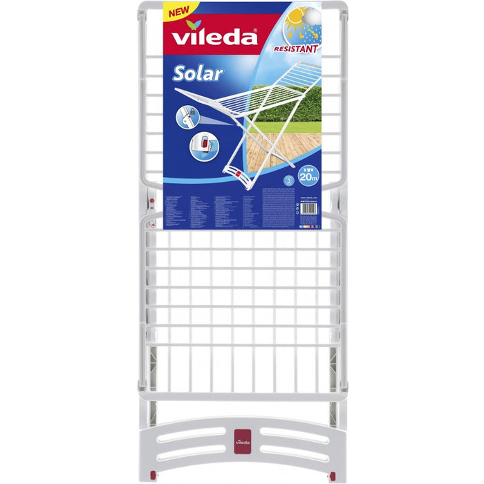 Vileda Solar Resin Plastic X-Leg Indoor/Outdoor Cloth Dryer 20m - Talabac