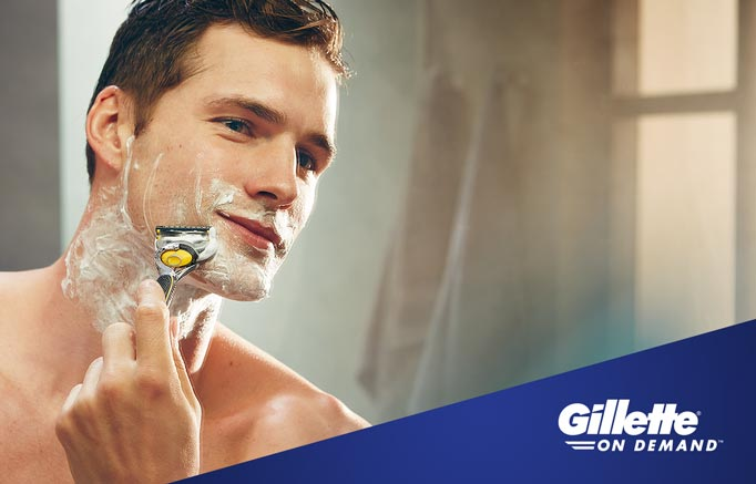 Gillette Series Sensitive Skin Shaving Gel with Aloe 200ml - Talabac