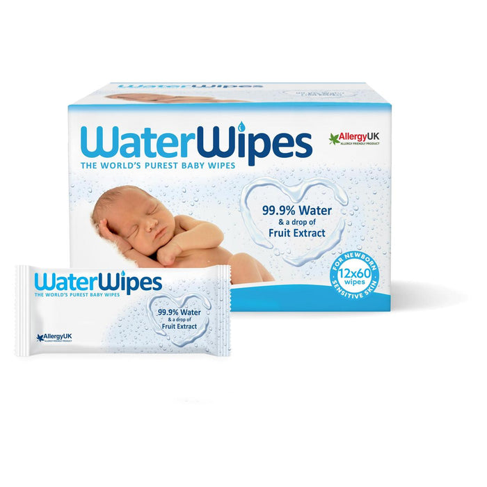 WaterWipes Baby Value Offer. Buy 2 get 1 FREE (3 Box / 2160 Wipes)