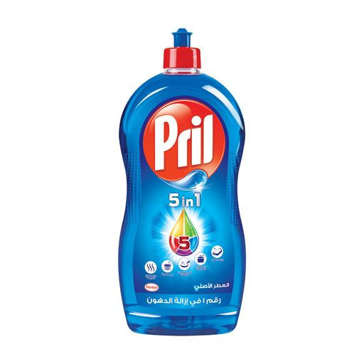 Pril 5 In1 Dish Wash Liquid Blue 1.25 Litre
