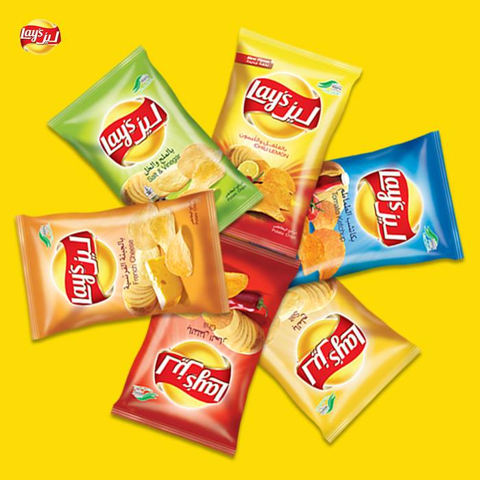 Lays Potato Pepper Chips 14g x 21 Pieces