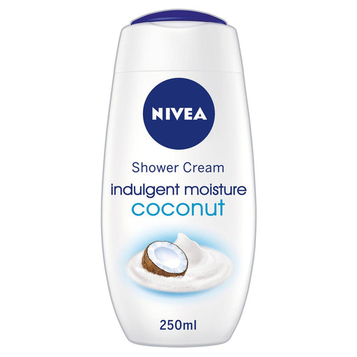 Nivea Shower Cream Gel Indulgent Moisture Coconut 250ml (Made in Germany) - Talabac