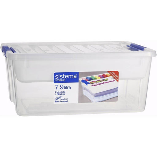 SISTEMA 7.9L STORAGE & LARGE WHITE TRAY