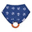 Dr. Browns Bandana Bib with snap on Teether, 1-Pack, Anchors (Blue with Orange Teether) - Talabac