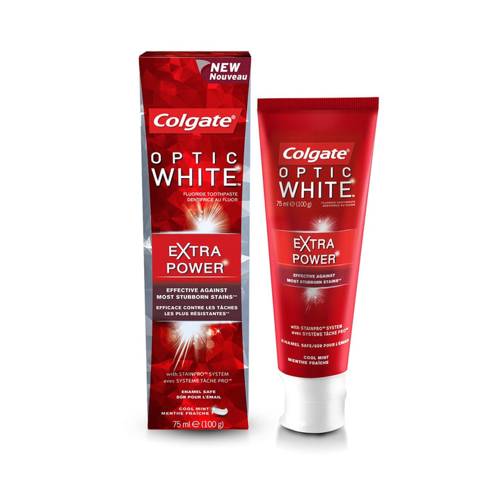 Colgate Optic White Extra Power Whitening Toothpaste 75ml
