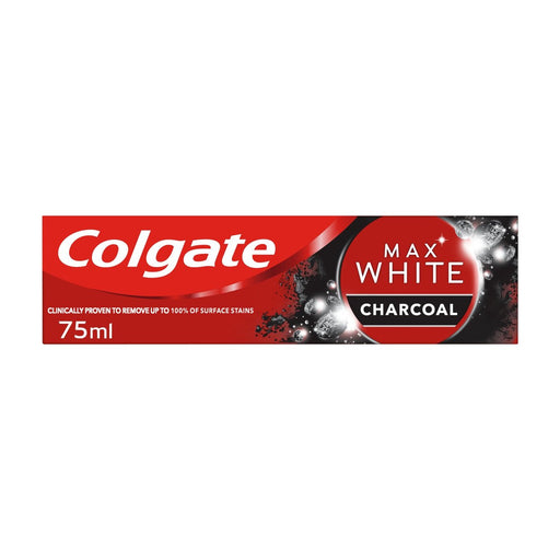 Colgate Max White Charcoal Whitening Toothpaste 75ml