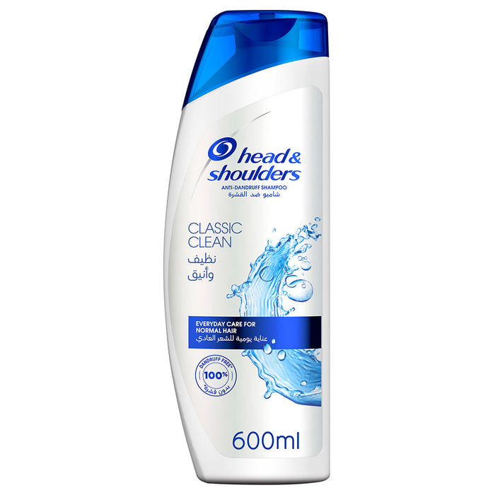 Head & Shoulders Classic Clean Anti Dandruff Shampoo 600ml