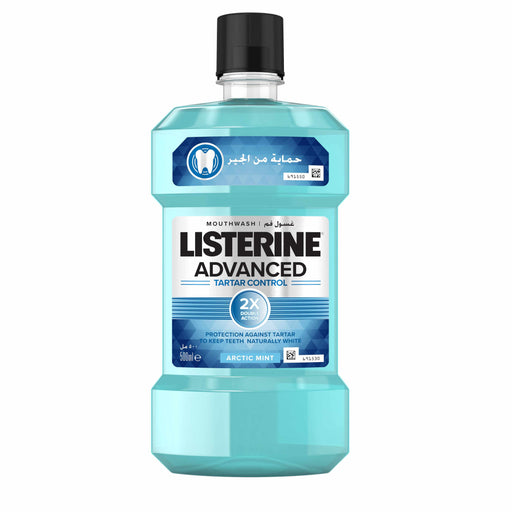 Listerine Tartar Control Mouthwash 250ml (Made in Italy)
